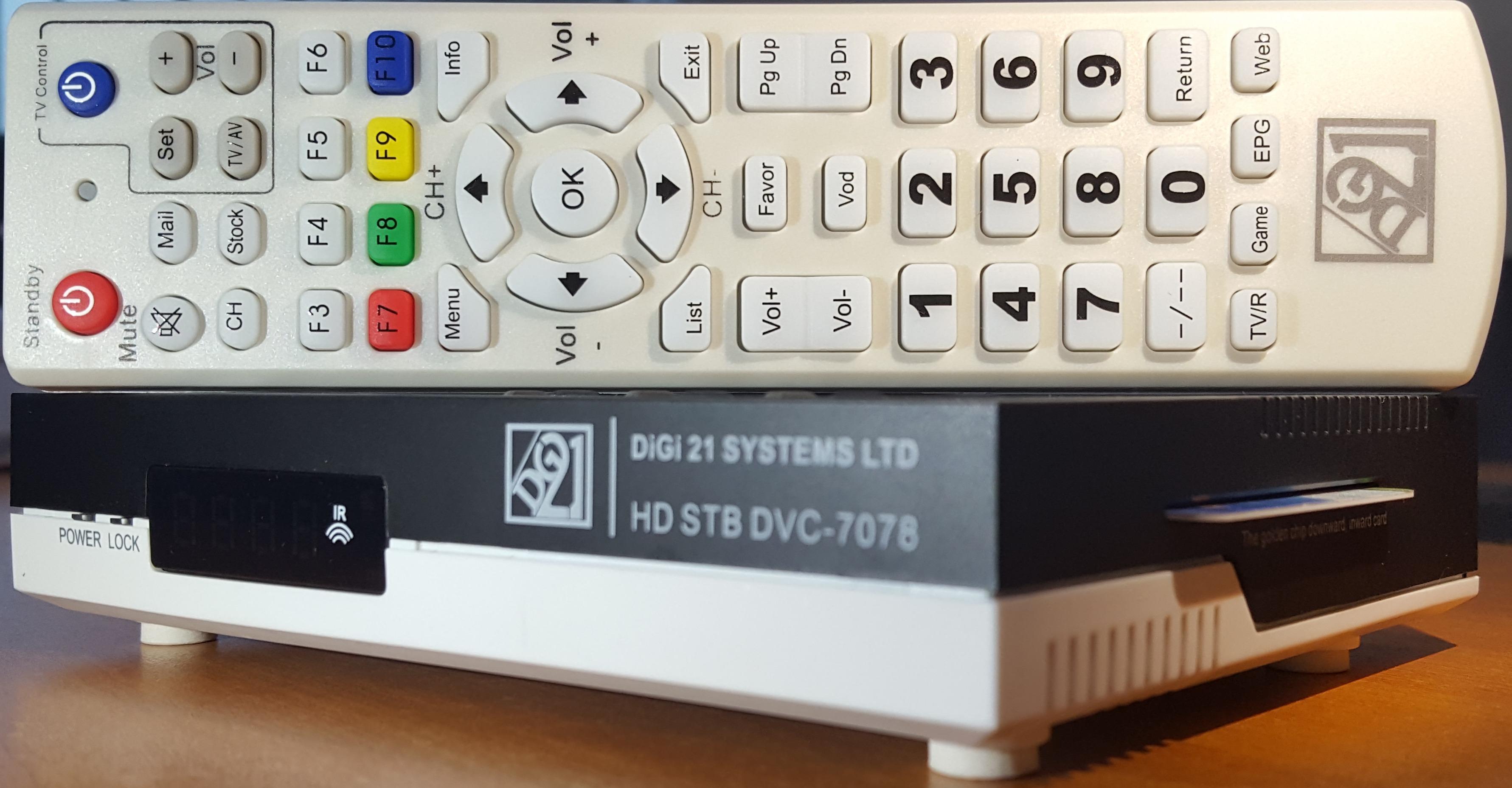 Digi21 Systems Ltd Digital Cable